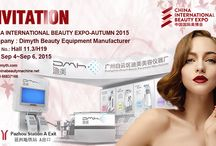 China International Beauty Expo Autumn 2015 / Dimyth exhibition booth