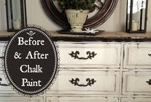 Dressing up old furniture