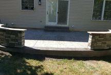 Decorative Concrete Walls
