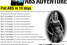 Printable Workout Plans / Well thought-out workout plans to trim and tone your body. Print and get started!