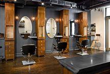 barbershop interieur