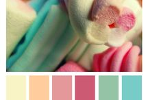 Inspiration - Color palette / Color palette for harmony and to make every design perfectly matched - inspirational photos and swatches
