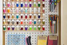 sewing room / by Genevieve Wilkinson