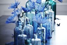 How I adore my blue hues / Calming elegance - blue and white subjects for me.
