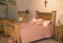 Southwestern Rustic Bedroom Furniture Sets