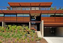 Custom Ray Kappe LivingHome: Los Angeles / This LivingHome is a custom, steel-framed design from Ray Kappe, FAIA, and was the first we built in Los Angeles.  It debuted as a showhome with WIRED Magazine.  This LivingHome features 5 bedrooms and 4.5 baths and is 4,154 square foot. Comprised of eleven modules, this LivingHome was assembled over two days. Like all LivingHomes, this LivingHome features an extremely comprehensive environmental program.