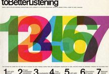 Design // Numbers / by Dave Cuzner / Grain Edit