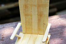 minyatür sandalye