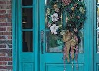 front door/shutters/accents