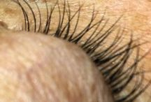 Our Luscious Lashes / Andrea offers many options for eyelash treatments including eyelash extensions and Crybaby Semi-permanent Mascara www.salonoggi.com