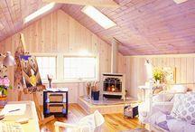 Cottage/garage / by Suzanne d'Entremont