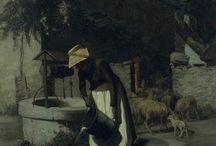 Peintres du XIXème siècle / e catalogue raisonné de l'œuvre de FIRMIN-GIRARD en cours de préparation donnera lieu à une publication prévue en 2017. Peintre et témoin fidèle de la société française de la Belle époque à la Grande guerre. Elève de Gleyre et de Gérôme, second grand prix de Rome en 1861. ll connaît très tôt les succès au Salon, offrant une oeuvre variée, de la peinture d'histoire à celle de genre, de la peinture de paysages aux scènes naturalistes.