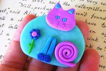 cats handmade / кошачьи сувениры