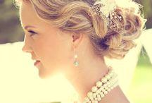 Bride's Hair Style