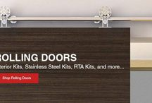 rolling doors and hardware