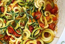 Veggie / Veggie and zoodle food