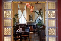 Bar Anacaona / Beautiful Interior Design in Hotel Saratoga Havana.