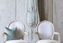 Gustavian love / Gustavian, furniture, grey furniture, white furniture, chairs, decorating, interior design
