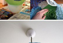 DIY - Lampor/ Lamp Shades