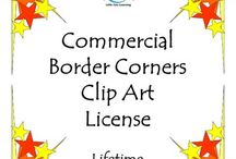 Commercial Borders Clip Art {LIFETIME LICENSE} - 751 Images / Commercial Borders Clip Art {LIFETIME LICENSE}***LIFETIME LICENSE*** EYE-CATCHING BORDER CORNERS CLIP ART. This is a HUGE mega bundle of quality Border Corner designs! Lots and lots of design styles are included for your every project need. Don't miss this opportunity to save BIG with this 751 designs pack!