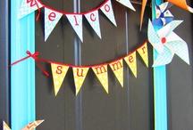 Wreath/door decor / by Amber Stamper
