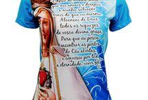 Camisetas com estampas religiosas