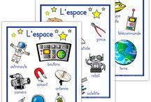 l'espace planets