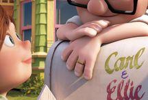 Up altas aventuras/ Carl e Ellie