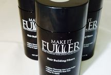 Make It Fuller Hair Loss Concealer Fibers / Make It Fuller Hair Fibers by NouriTress is designed to make thinning hair appear fuller instantly. Our Hair Fibers designed to mimic textured hair is hypoallergenic, sweat resistant, workout friendly, doesn't stain the scalp, doesn't run when working out, doesn't come off on your pillowcase and fragrance free.