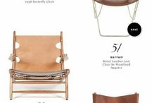Leather Arm Chairs
