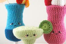 Crochet food & drinks / by Marjolein Does