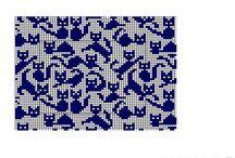Pletení Norský vzor