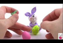 Craft Jewelry Polymer Clay / Crafts Craft Jewelry Polymer Clay tutorial how to make homemade diy creative kids fun things Paint illustration bright necklace pendant illustration bright diy  / by Kristina M Knecht-cuda