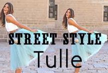 Fashion Tulle / Tulle Fashion // http://www.missesdressy.com/blog/street-style-obsessed-with-tulle.html