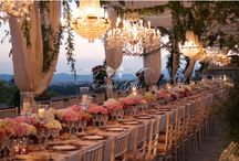 Elegant Gold Rose & Copper Wedding / Eventi Gaia Wedding is glad to show you her new project: an elegant copper and pink wedding under a stunning pergola and magical chandelier.