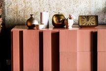 Copper and Blush / Love this Interior Design Trend