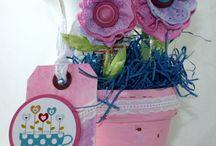 May Arts Ribbon and Splash of Color