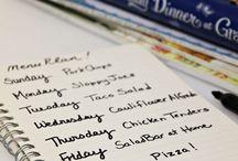 Home: Meal Planning & Binder Printables
