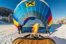 Ballonfestival / Jedes Jahr im Jänner ziehen zahlreiche Heißluftballons übers Tannheimer Tal. #tannheimertal