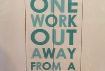 My fit life! / Motivation & progress / by Karen Nash