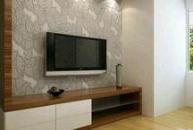 Τηλεόραση τοίχος ντεκόρ