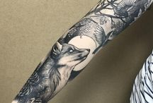 Tetování po celé paži
