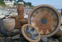 wood fired pots