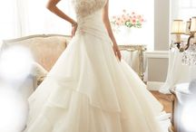 Sophia Tolli / Gowns from the Sophia Tolli Collection available at Molly's Bridal in Dallas! www.mollysbridal.com