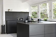 Kjøkken sort