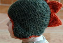 Knitting and Crochet Winter Gear / Random Crochet and Knitting hats and scarves and such