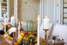 Thanksgiving tablescapes / Decorating your thanksgiving dinner table. / by DeborahCruz