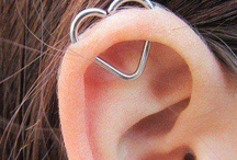 Piercings / Belly button, nose, ears, cartilage, lip, and other piercings