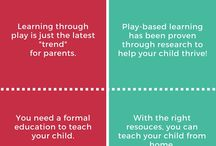 Play / ideas to promote free unstructured play
