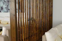 bambu bölme